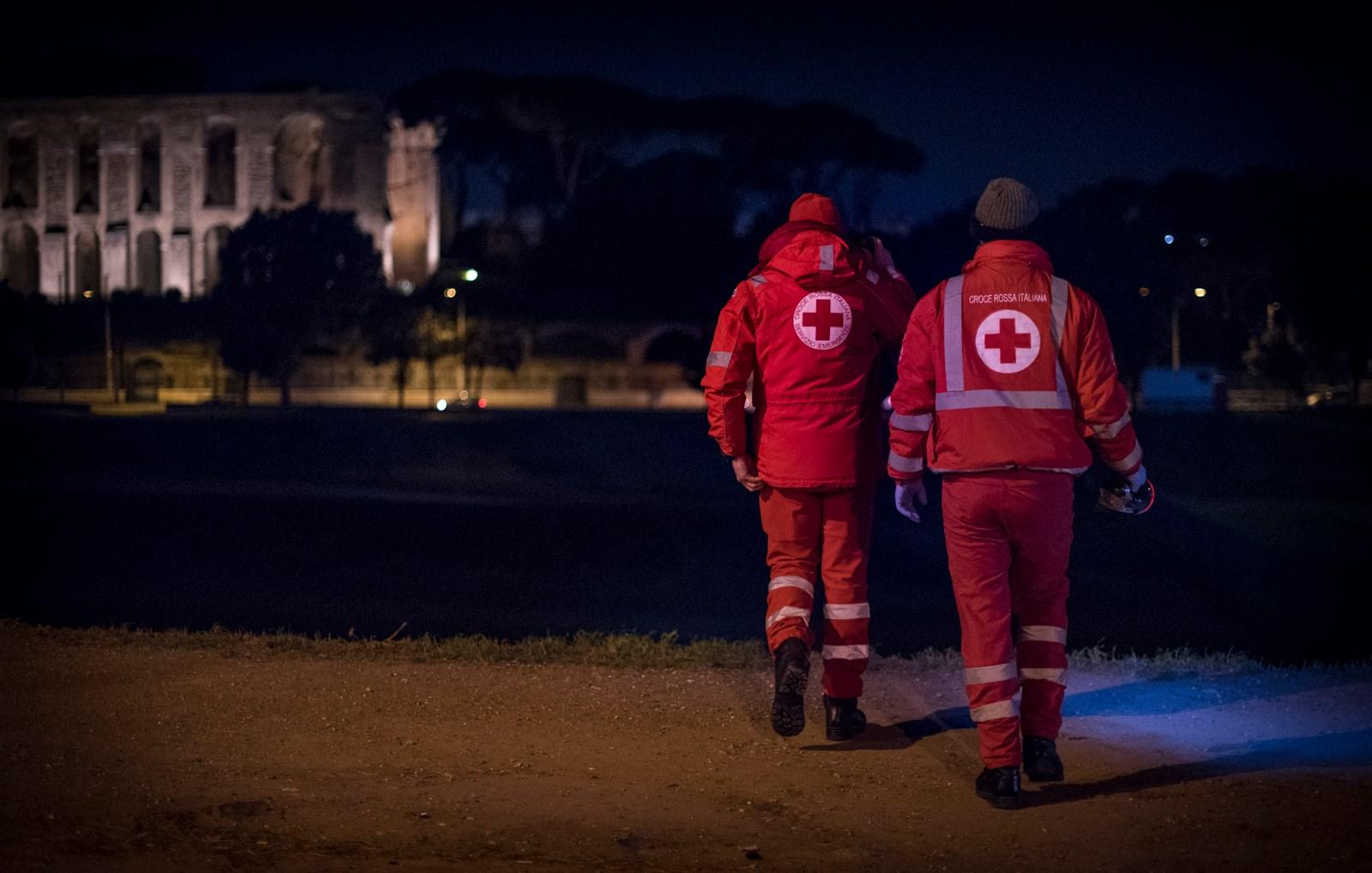 CRI Roma - Emergenza Freddo