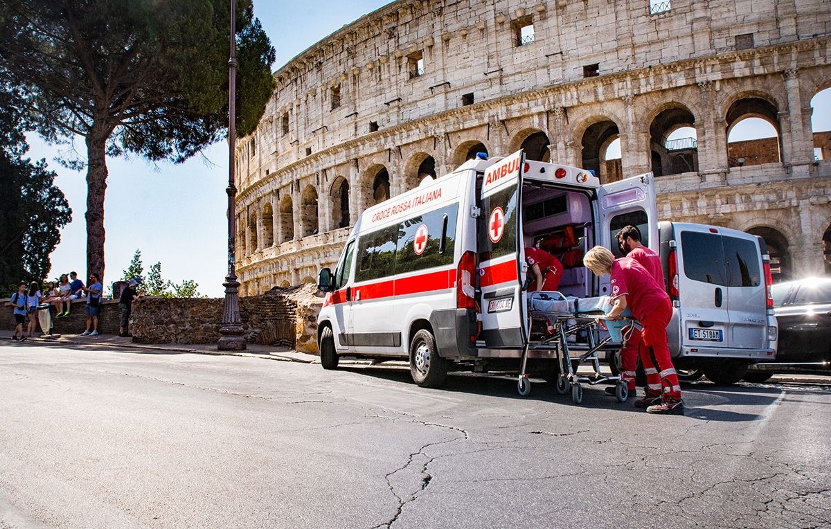 Attività Unità di strada della Croce Rossa di Roma