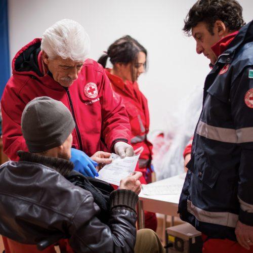 Sportello Di Ascolto Per Povertà Estrema. Sociale.Croce Rossa Italiana - Comitato Area Metropolitana Di Roma Capitale.