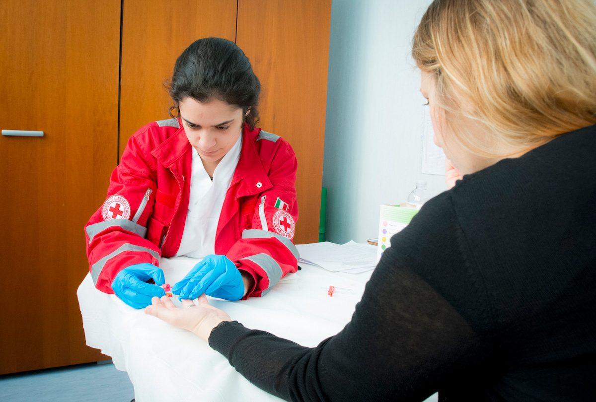 Raccolta e Donazione Sangue.Croce Rossa Italiana - Comitato Area Metropolitana di Roma Capitale.