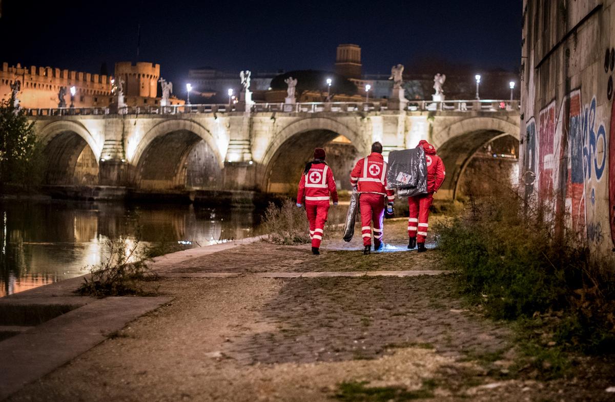Attività Unità Di Strada. SASFID.Croce Rossa Italiana - Comitato Area Metropolitana Di Roma Capitale